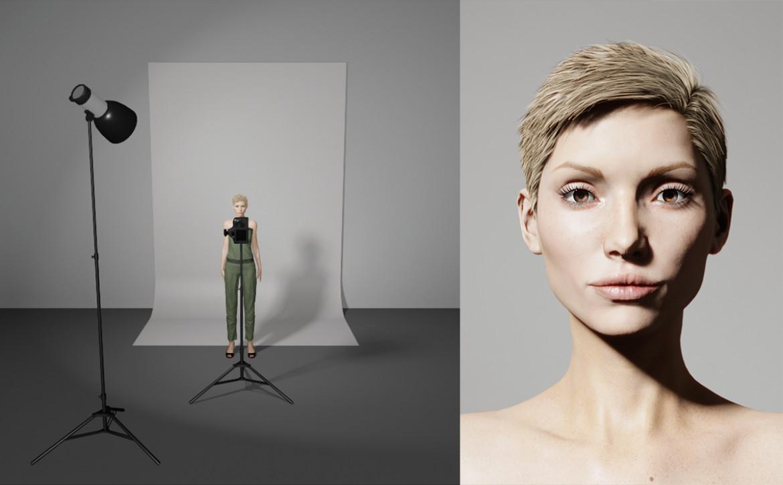 Studiofotografie opstelling lampen - Lus