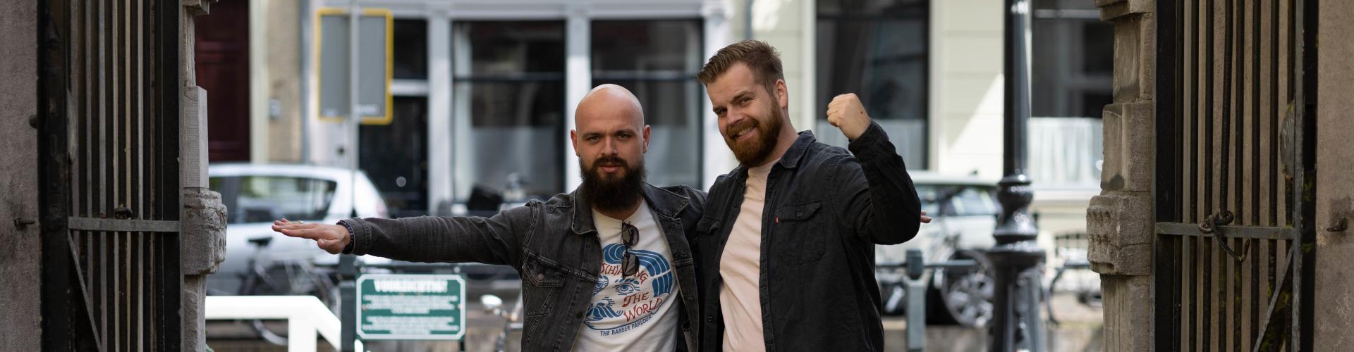 SocialBeardsNL Buck en Sander
