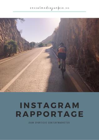 Instagram Rapportage