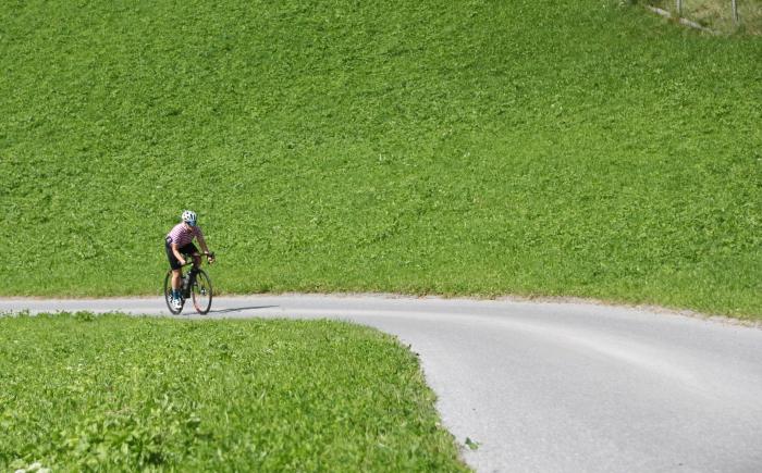 Kirsten wielrennen