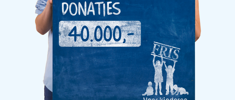 Stichting FRIS Voor Kinderen haalt 40.000 euro op aan donaties in 2020