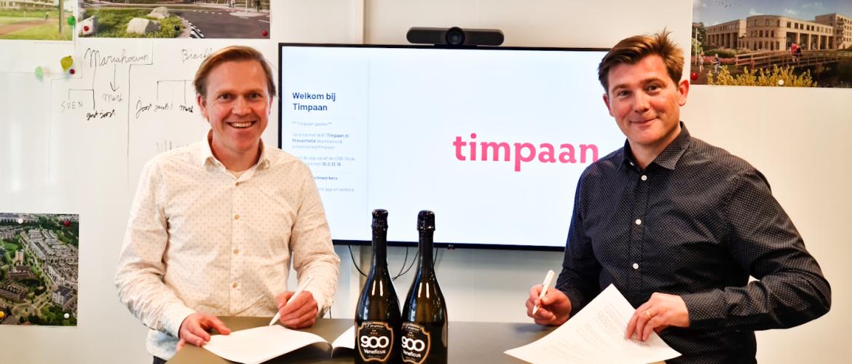 Veneficus Real Estate (Houzr) en Timpaan versterken samenwerking.