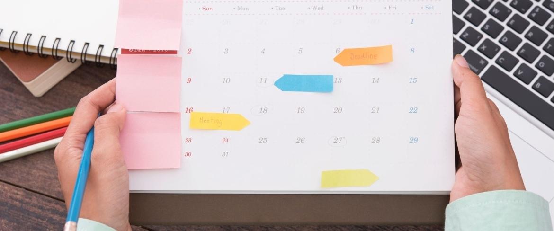 content creatie kalender