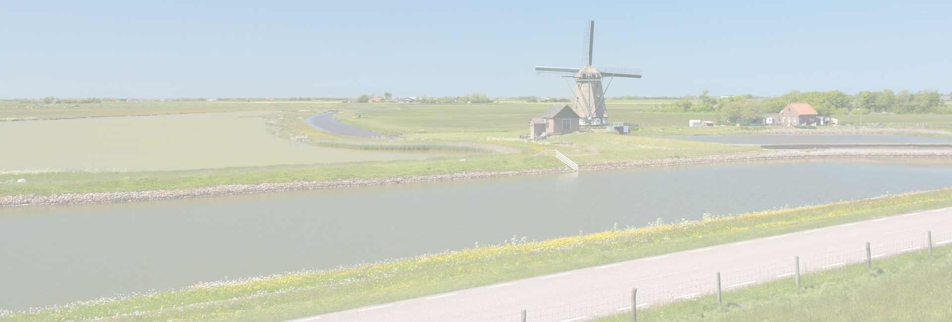 de molen van het noorden op texel