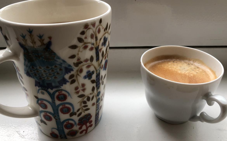 Geen stress: neem gewoon koffie en thee