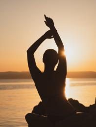 wel eens geoefend met mediteren