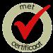 wordt geleverd met certificaat en logboek