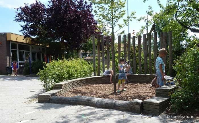 ontwerper groene schoolpleinen