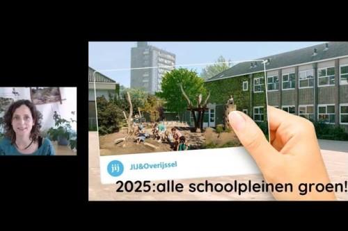 cursus groene schoolpleinen