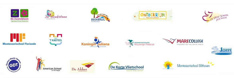 scholen waar we groen schoolplein voor maakten