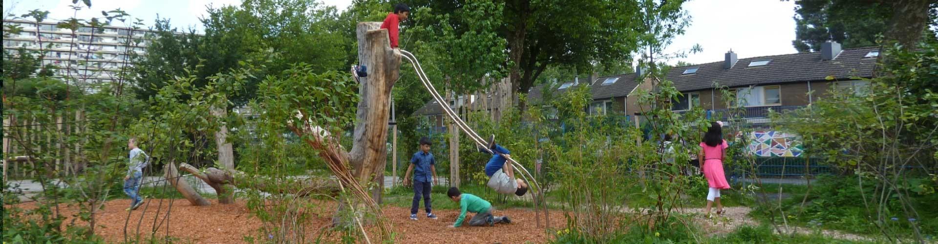 groene schoolpleinen