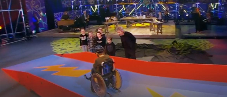 De rolstoelglijbaan voor Matthijs gaat door