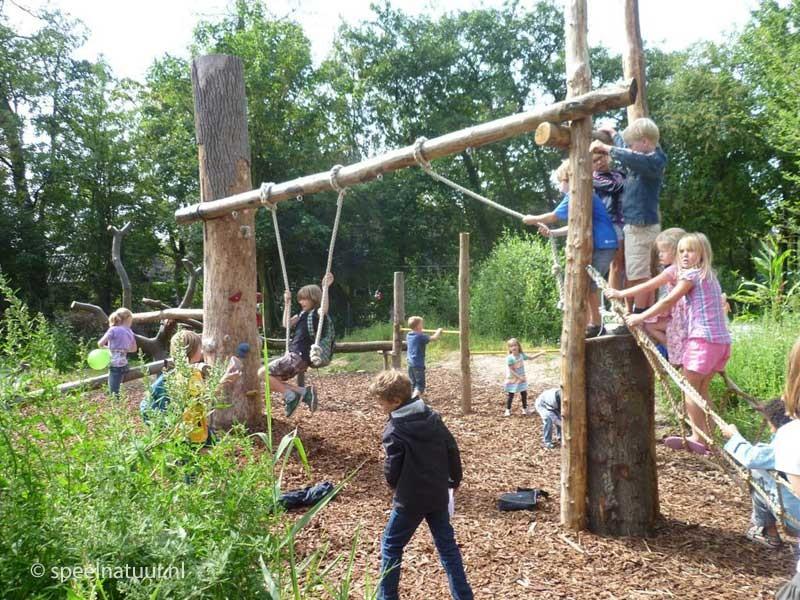 klimmen en klauteren groen schoolplein
