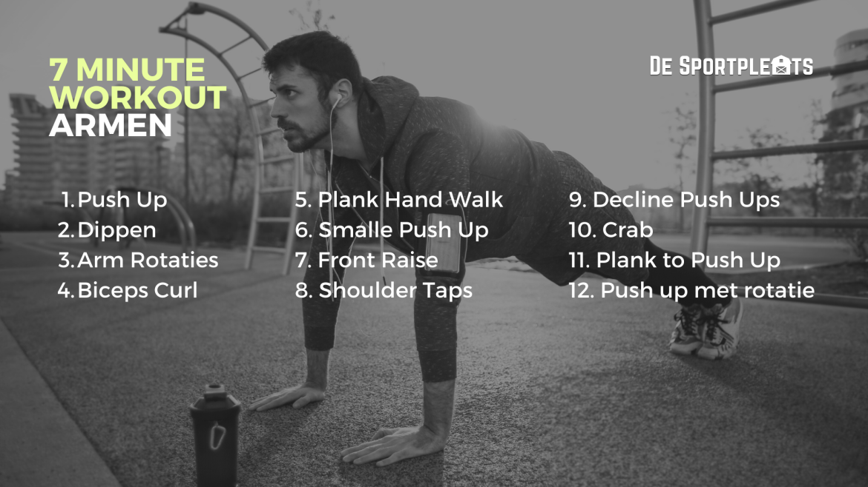 7 minute workout armen