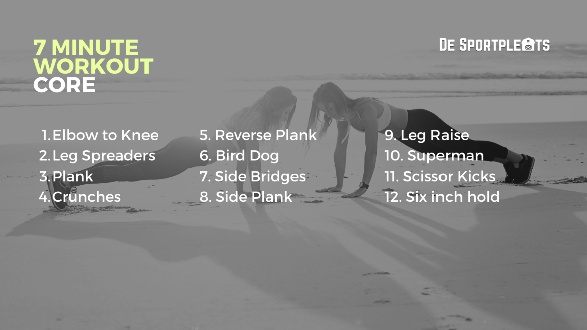 7 minute workout core