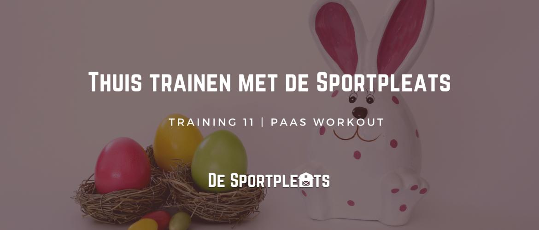 Thuis trainen met de Sportpleats nr. 11 | EMOM Paas Workout
