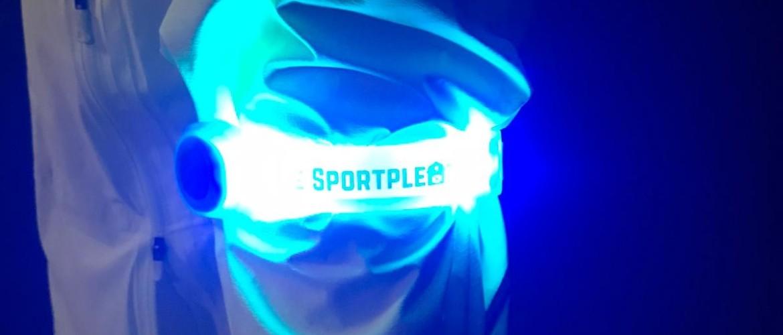 De Sportpleats LED Armband