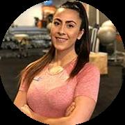 Personal trainer Asja