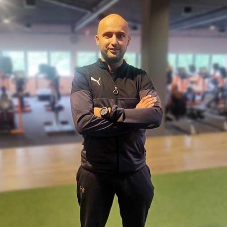 Personal trainer Abdel