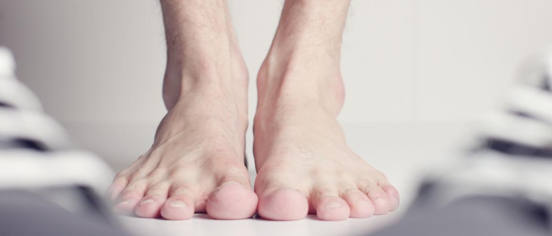 Eelt: verharding onder de voeten of handen