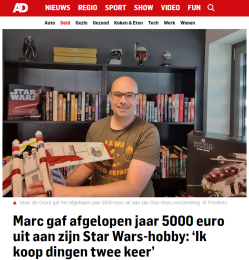 AD interview over Star Wars