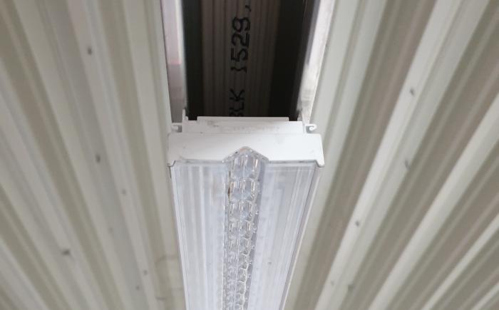 Renovatie led lichtlijn