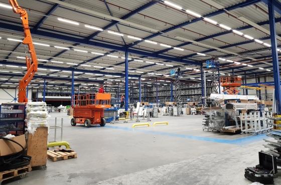 Alpha fabriek led verlichting