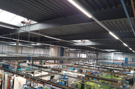 CNC werkplaats led