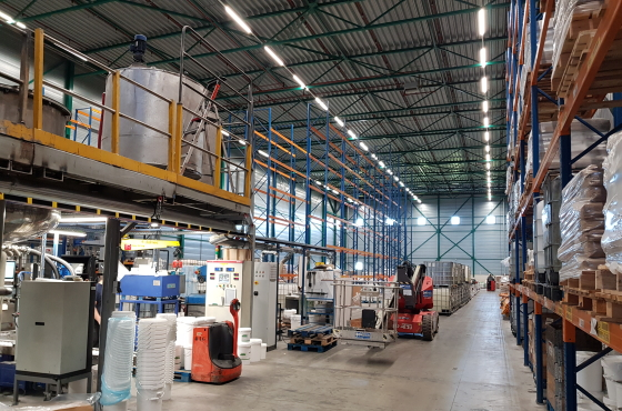 Fabriek Quartzline led