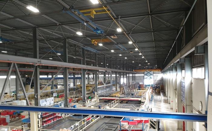 Betonfabriek led