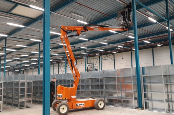 Logistieke hal Kleertjes.com