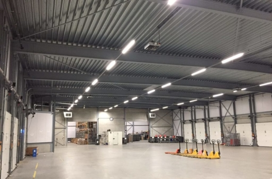 Distributie centrum led