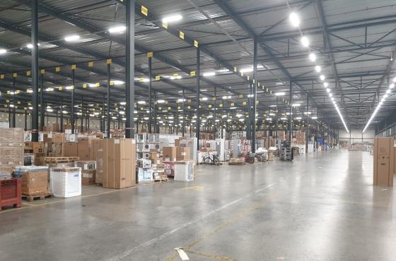 Vonk en Co warehouse