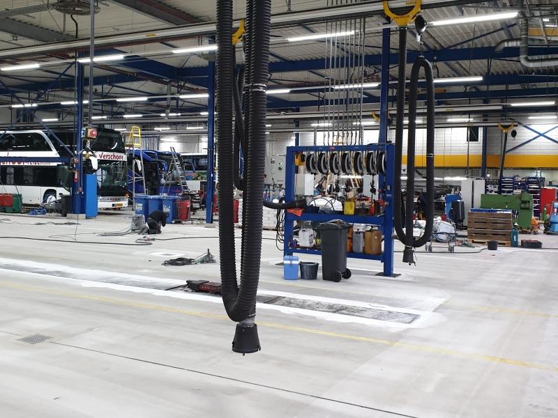 Truck Evobus werkplaats