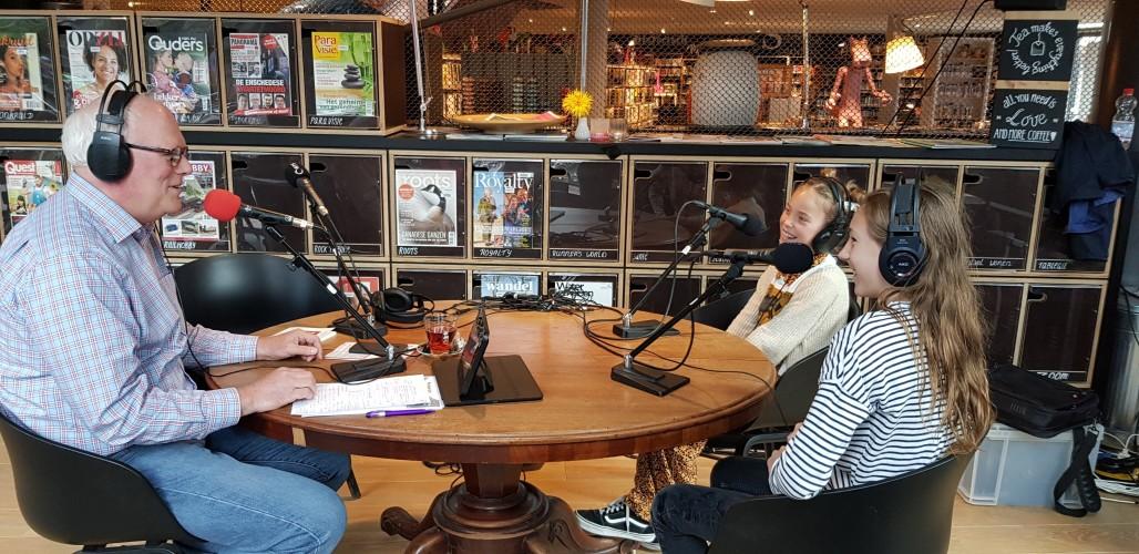 Live op de radio