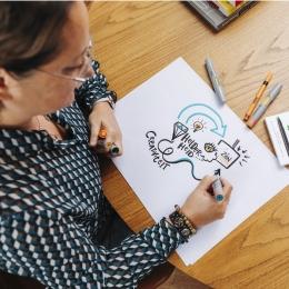 Marjolein van Braam Morris tekent helder
