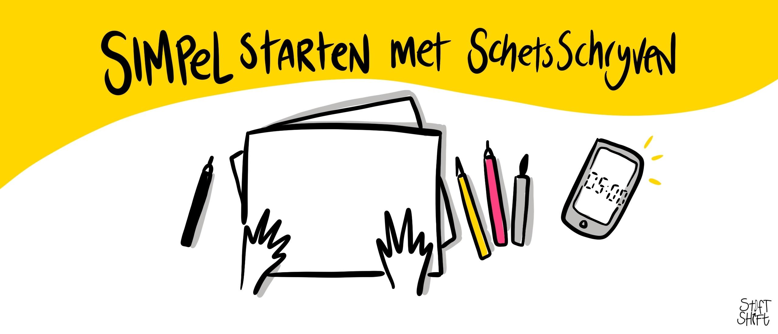 Starten met zakelijk tekenen als je niet weet hoe te beginnen