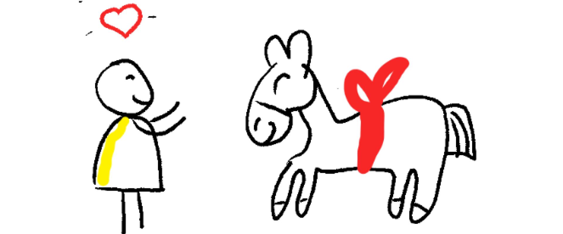 Een gegeven paard accepteren