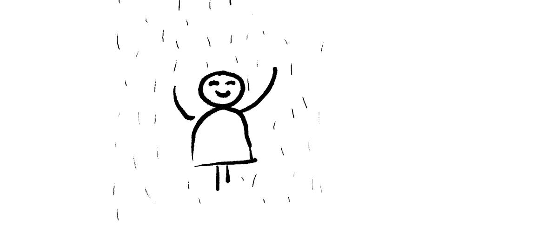 Ik voel het aan mijn (regen)water