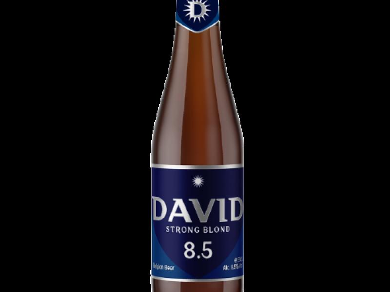 David 8.5 Strong Blond Bier