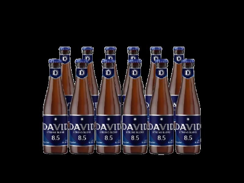 DAVID 8..5 Strong Bold bier 12 pack