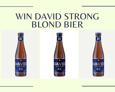Win David Strong Blond Bier