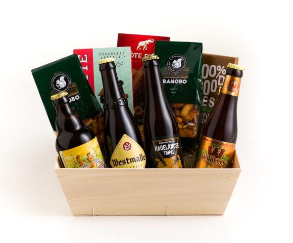 Aperobox Bier & Chocolade - klein