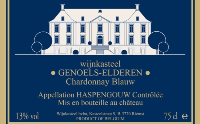 Chardonnay Blauw: droge witte wijn