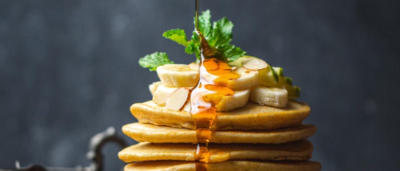 Amandel-Banaan Pannenkoekjes recept