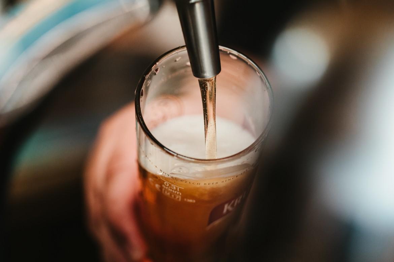 bier schenken