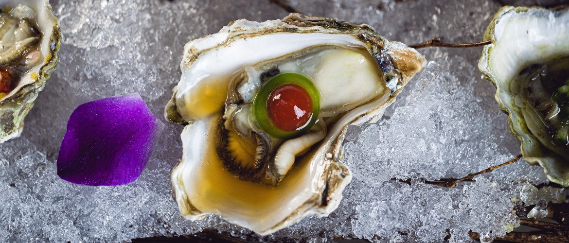 Oesters met double you gin [recept]