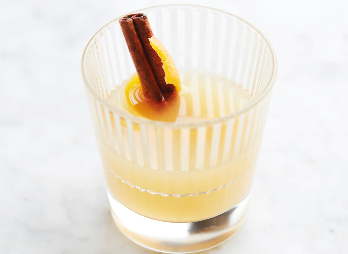 Elixir d'Anvers wintercocktail