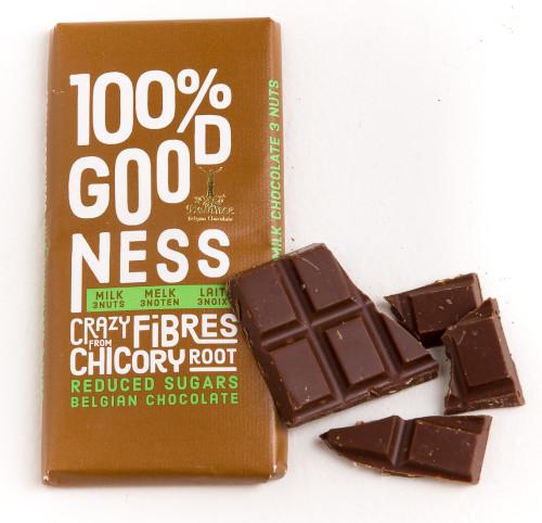 100% lovelyness noten reep - suikerarm