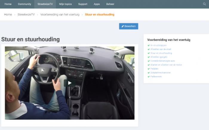 Streetwize TV rijles video's online